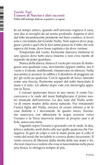 L'amore di Narciso e altri racconti (Eneida Topi)