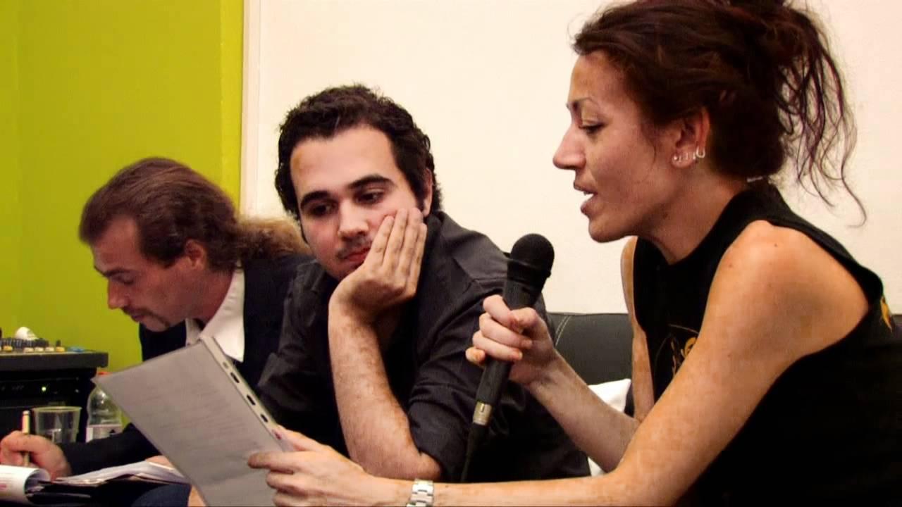 Ahmed Nàgi con Barbara Benini